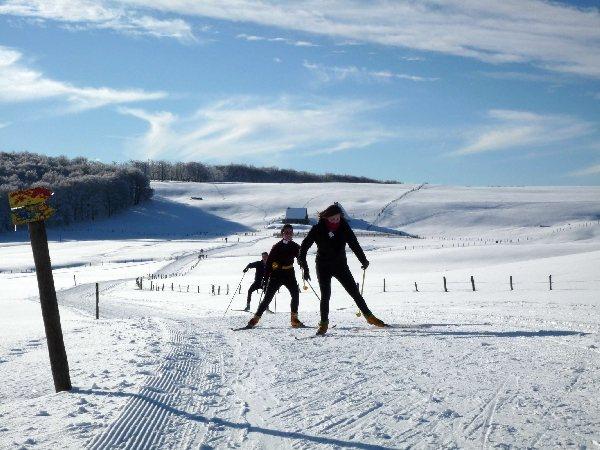 Station de ski de laguiole laguiole tourisme aveyron - Office de tourisme aubrac ...