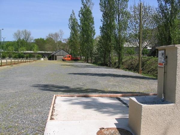 Aire de camping-car municipale d'Arvieu
