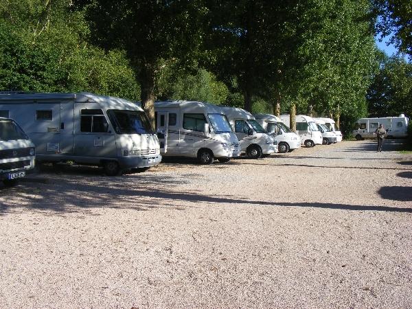 Aire municipale de camping-car de Camarès