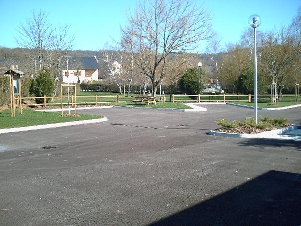 Aire de services municipale de camping-car à Campagnac