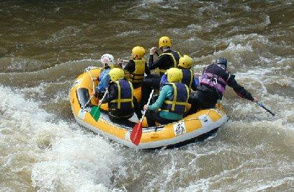 Rafting sur l'Aveyron, AAGAC Najac