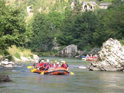 Aigue Vive rafting, OFFICE DE TOURISME DE MILLAU