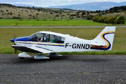 Le Robin DR400-160 du club, François Lécuyer