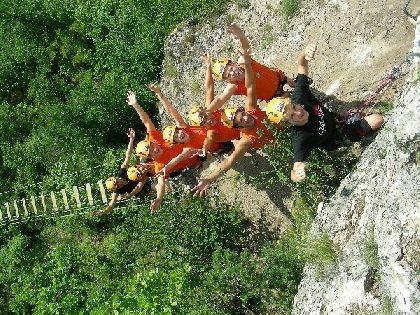 Roc et Canyon  - Seminaire / Incentive / Raid, Challenge, OFFICE DE TOURISME DE MILLAU