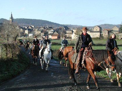 Les Écuries de Briounas stage d'Equitation