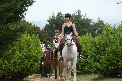 Centre Equestre Le Sonnac, Sylvia Albaret