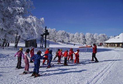 Station de ski de Laguiole Ski Alpin