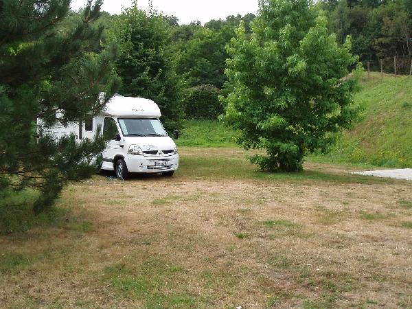 Aire de camping-cars municipale