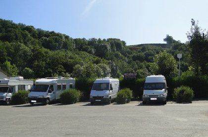 Aire de camping-car municipale de Pont-de-salars