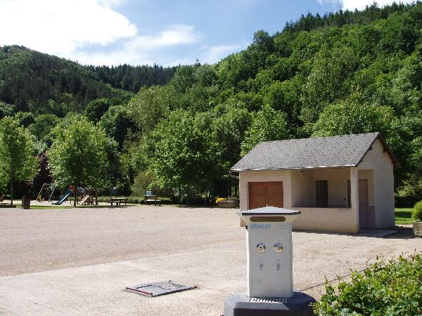 Aire de camping-car municipale de St-Just-sur-Viaur