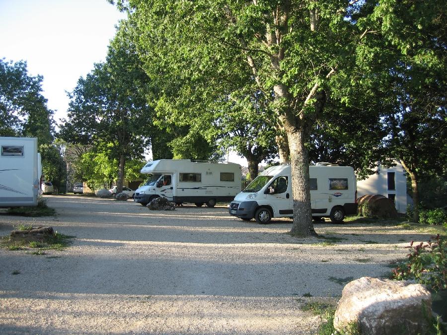 Aire de camping-car municipale de Sauveterre de Rouergue
