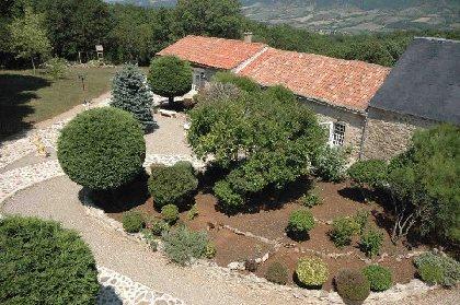 Auberge médiévale du Domaine de la Barraque (Sainte-Eulalie de Cernon), Auberge du Domaine de la Barraque