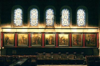 Le chemin de Croix de Gustave Moreau à l'église Notre Dame de Decazeville