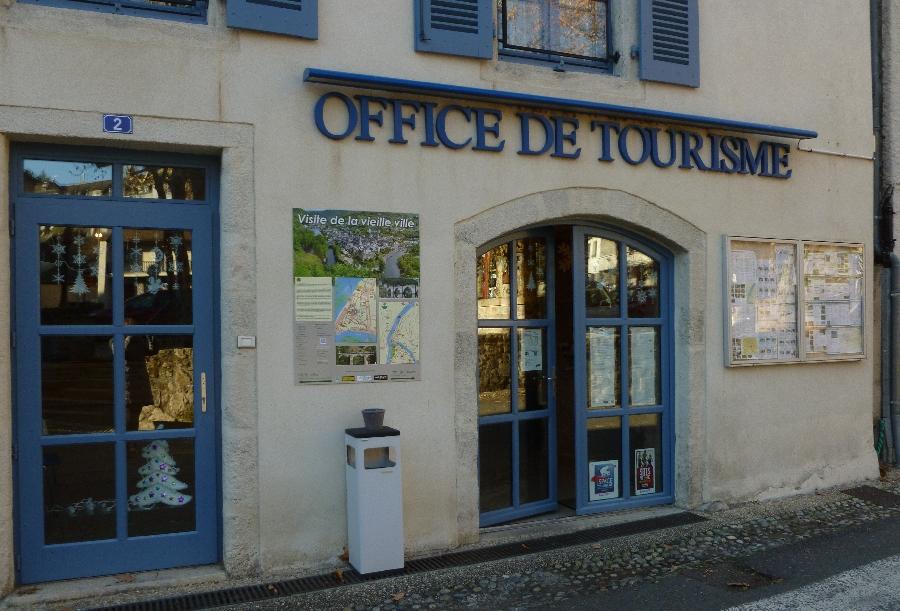 Office de Tourisme Terres d'Aveyron, bureau d'Information Touristique d'Entraygues