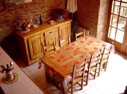 Brigitte Kucera - Salle à manger, OFFICE DE TOURISME de CONQUES