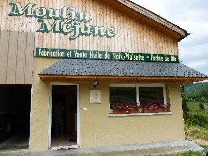 Moulin Méjane (Huile de noix, noisettes, farines bio)