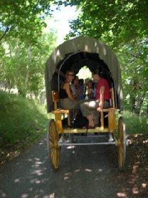 Ranch du Barrez Balade en calèche, OFFICE DE TOURISME DU CANTON DE MUR DE BARREZ