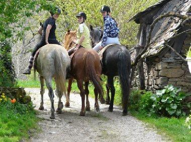 Le Batut Promenade à cheval