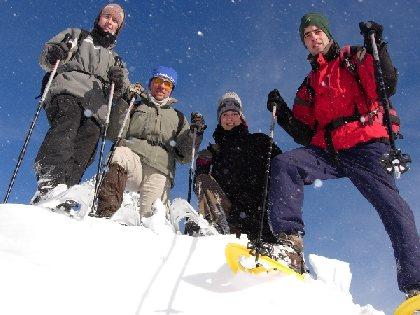 Bureau des accompagnateurs raquettes à neige, Julien Mélo