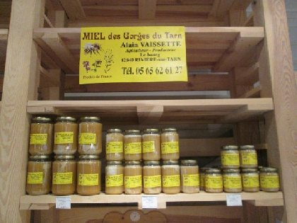 Miel des Gorges du Tarn (Infos 2019 non communiquées)