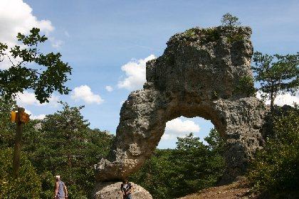 La Porte de Mycène - Chaos rocheux du Causse Noir, Parc de Loisirs de Montpellier-le-Vieux