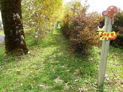 Sentier de l'imaginaire: et le paysan créa la prairie