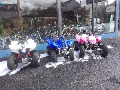 Locations quads et motos enfants