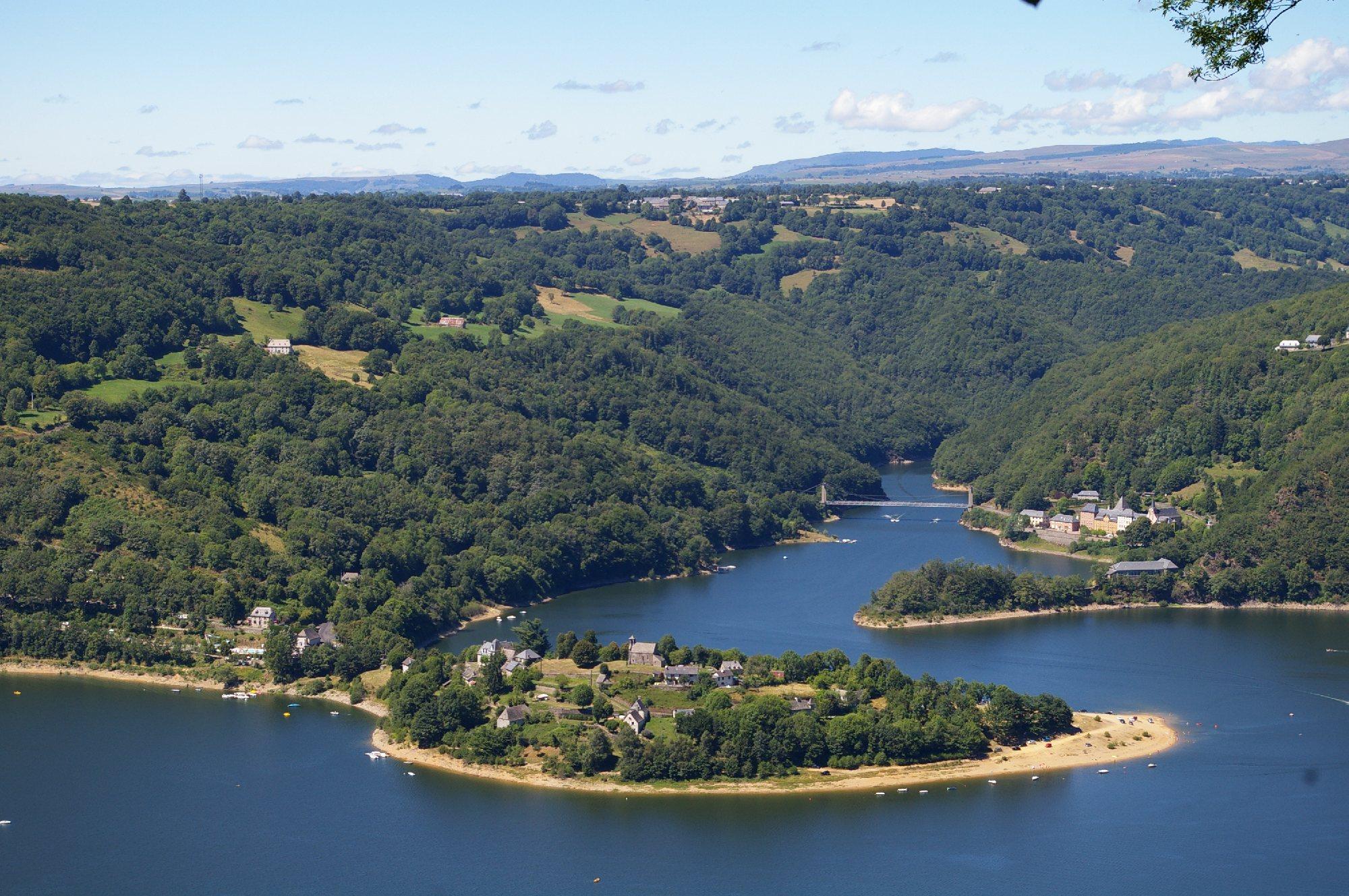 Site naturel de la presqu 39 le de laussac tourisme aveyron - Office du tourisme presqu ile de giens ...