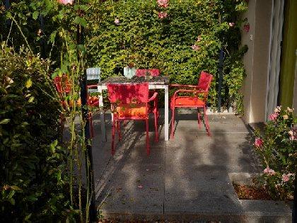 Gîte des Roses - Terrasse, OFFICE DE TOURISME de CONQUES-MARCILLAC