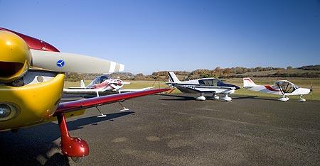 Aéroclub du rouergue Ecole de pilotage ULM et promenade aérienne