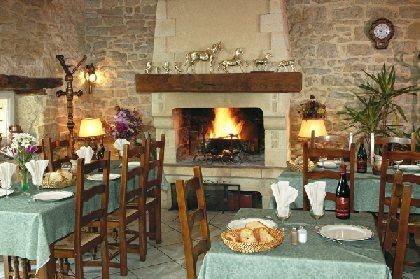 Salle du restaurant, Rodier