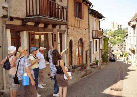Visites guidées du village de Najac