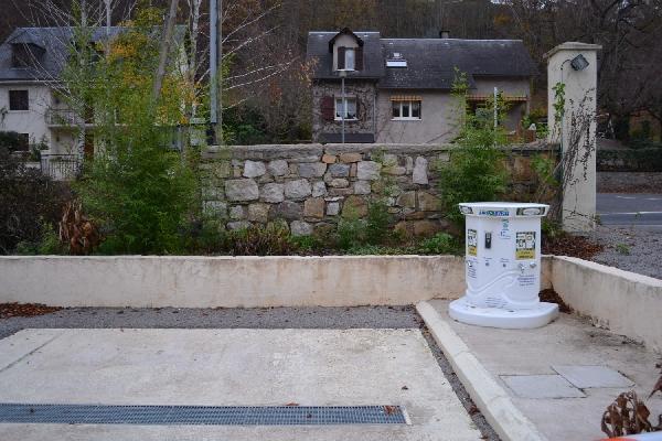 Aire de services camping-car Tohapi La Boissière à St Geniez d'Olt