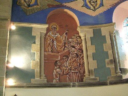 Visite de l'Eglise de Lagarde - Fresques de N. GRESCHNY, OFFICE DE TOURISME DU REQUISTANAIS