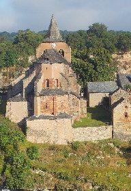 EGLISE ROMANE SAINTE FAUSTE, OFFICE DE TOURISME DE BOZOULS