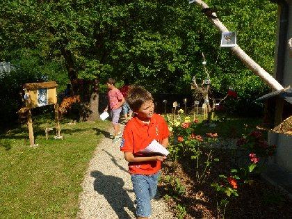 Visite de la Vieille Ville d'Entraygues pour les enfants