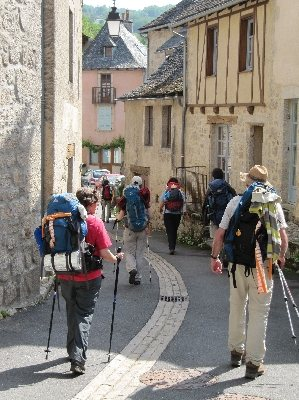 Chemin de st jacques de compostelle golinhac tourisme - Office du tourisme saint jacques de compostelle ...