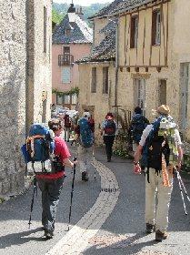 Chemin de St Jacques de Compostelle, OFFICE DE TOURISME DU CANTON D'ENTRAYGUES SUR TRUYERE
