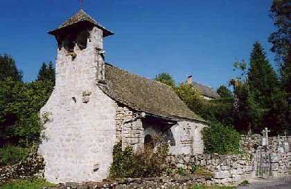Chapelle de Mels, Office de tourisme Argences en Aubrac