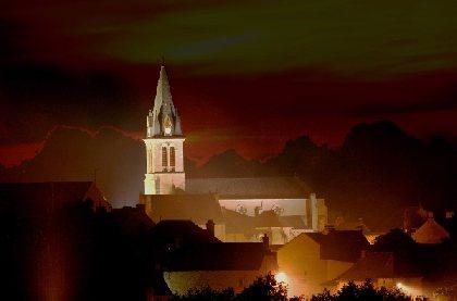 Eglise de Ste Geneviève sur Argence