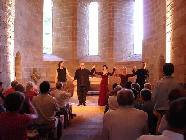 Concert Festival des Musiques Sacrées de Sylvanes au Prieuré de Comberoumal