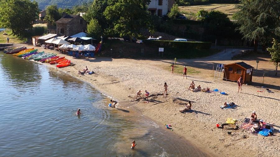 La plage du Mas de la Nauc