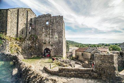 Château Templier de la Couvertoirade, OFFICE DE TOURISME LARZAC VALLEES - CP Greg Alric