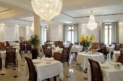Salle de restaurant, Hôtel Restaurant du Parc