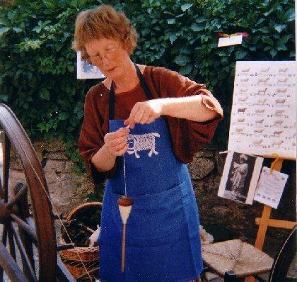 Stage de filage de laine (La Couvertoirade), Informations La Couvertoirade