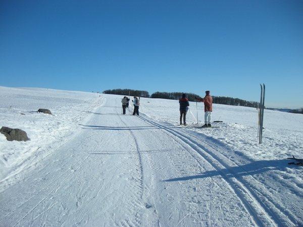 Station de ski de laguiole ski de fond et raquettes laguiole tourisme aveyron - Office du tourisme laguiole ...