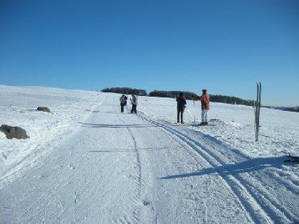 Station de ski de Laguiole Ski de Fond et Raquettes