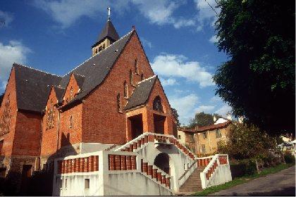 Eglise Notre Dame des Mines, Combes, Syndicat d'initiative d'Aubin