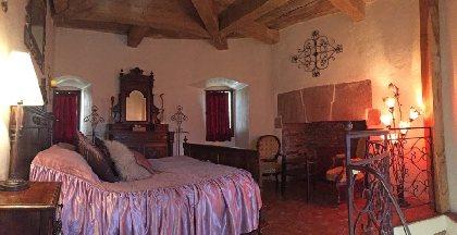 Chambre d'hôte du château de Belcastel