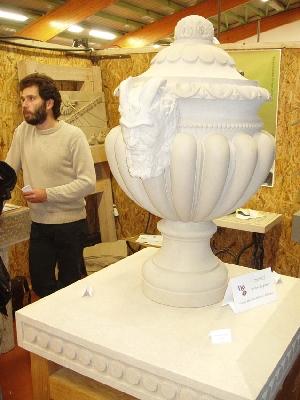 Yves Saget - tailleur de pierre